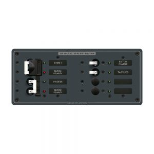 Blue Sea 8599 AC Toggle Source Selector (230V) - 2 Sources + 4 Positions