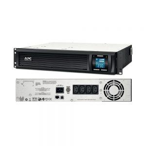 APC Smart-UPS C 1000VA 600W 230V LCD RM 2U UPS System SMC1000I-2U