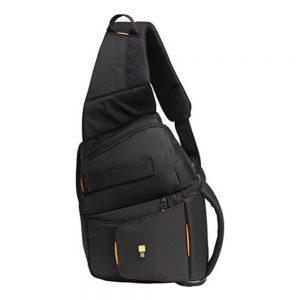Case Logic SLRC-205 SLR Sling Backpack - 14.75 x 4.5 x 3.75 - Nylon - Black
