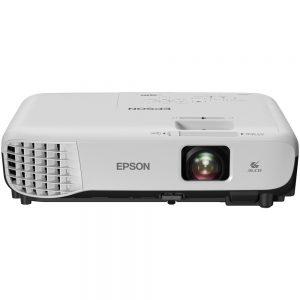 Epson VS355 LCD Projector - 16:10 - 1280 x 800 - Rear