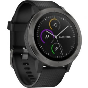 Garmin Vivoactive 3 010-01769-11 GPS Smart Watch - Heart Rate Monitor - Black