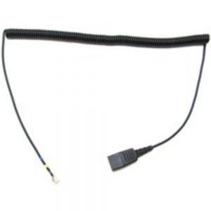 Jabra 01-0203 Headset Coil Cord with GN Quick Disconnect for GN 8000