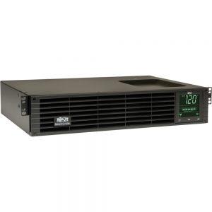 Tripp Lite UPS Smart 1000VA 800W Rackmount AVR 120V Pure Sine Wave LCD USB DB9 2URM TAA - 1000VA/700W - 7 Minute Full Load - 6 x NEMA 5-15R