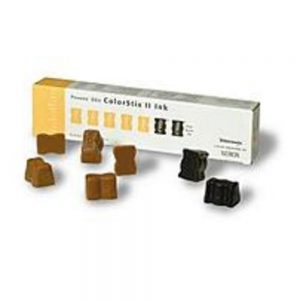 Xerox ColorStix 016-1905-01 Yello Solid Ink Stick for Phaser 860 - 5-Yellow - 2-Black