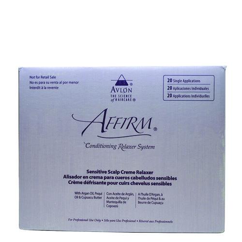 Affirm Sensitive Scalp Relaxer 20 Pack