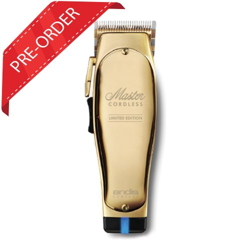 Andis Master Cordless Clipper Gold Limited Edition  *Pre-Order