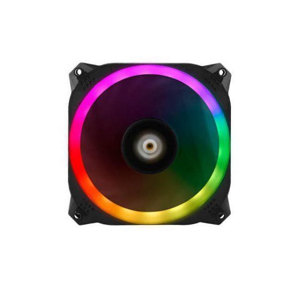 Antec PRIZM 120 ARGB 3+2+C 120mm Case Fan w/ Fan Controller & ARGB LED Strips (3 in 1 pack)