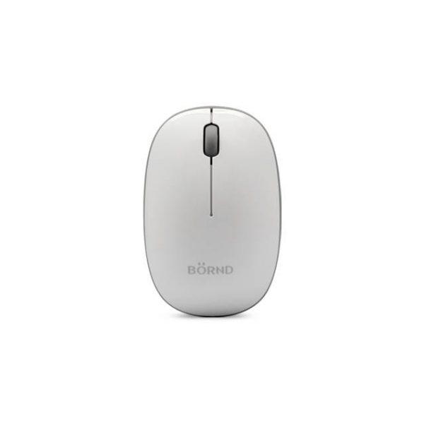 Bornd E220 Wireless 2.4Ghz Optical Mouse (White)
