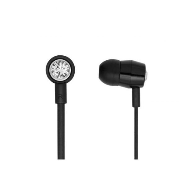 Bornd T620 Wired 3.5mm In-ear Stereo Earphone w/ Microphone (Black)
