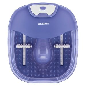 CONAIR(R) FB90X Heat Sense Foot and Pedicure Spa with Heated Bubble Massage