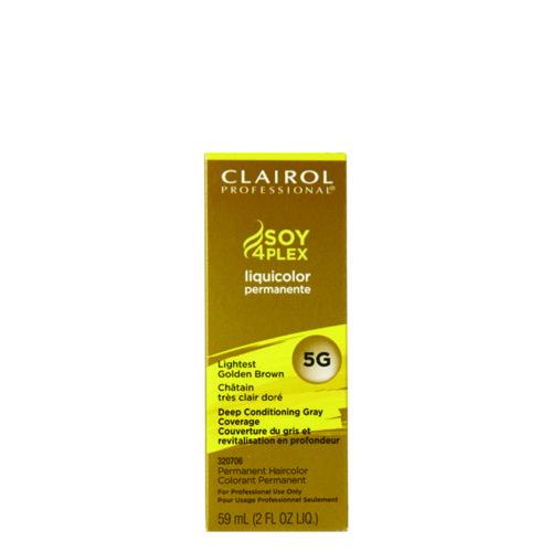 Clairol Liquid Color 5G Lightest Golden Brown