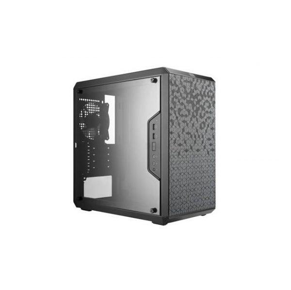 Cooler Master MASTERBOX Q300L No Power Supply MicroATX Mini Tower Case w/ Window