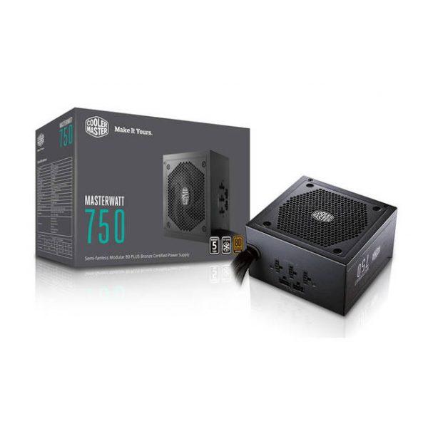 Cooler Master Masterwatt MPX-7501-AMAAB-US 750W 80 PLUS Bronze ATX 12V V2.4 Power Supply