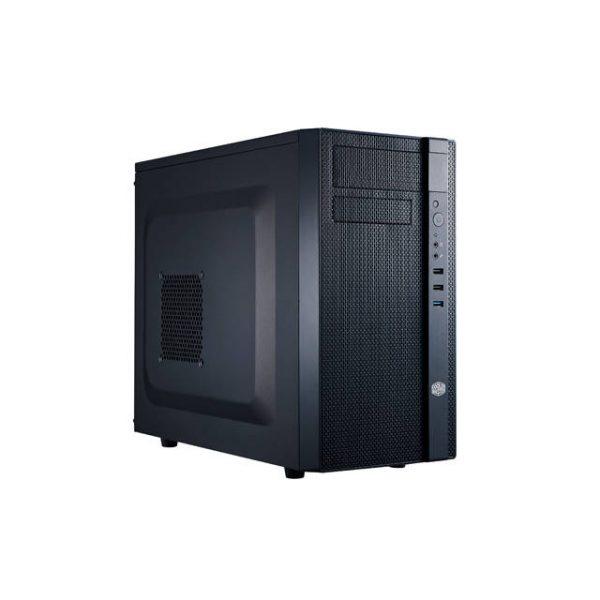 Cooler Master N200 No Power Supply MicroATX Mini Case (Midnight Black)