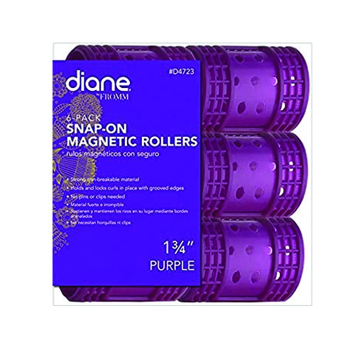 Diane 4723 Snap-On Magnetic Roller  Purple
