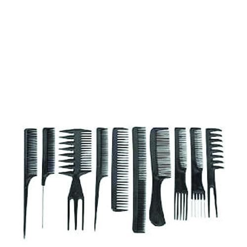 Diane 7901 Assort Comb Kit-Blk 10Pk