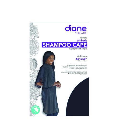 Diane Dri-Back Shamp Cape Blk Dta016