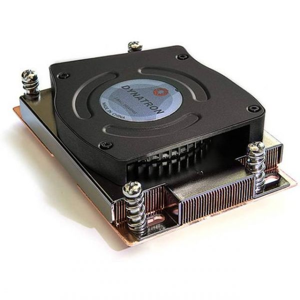 Dynatron A31 Exhausting. Active Cooler for 1U Server. Support CPU power up to 225 Watts Heat Dissipation.