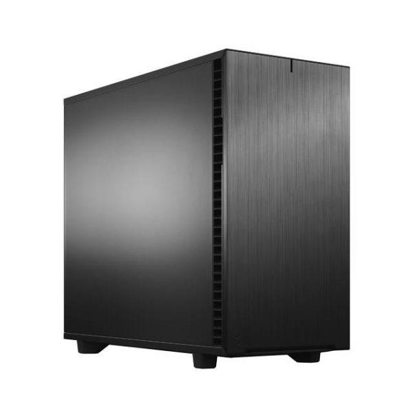 Fractal Design Define 7 Black Solid /Brushed Aluminum/Steel E-ATX Silent Modular Mid Tower Computer Case