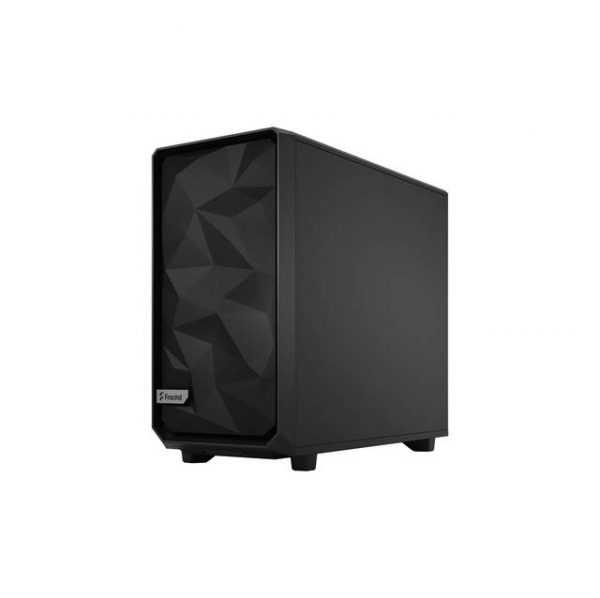Fractal Design FD-C-MES2A-03 Meshify 2 Black ATX Flexible Light Tinted Tempered Glass Window Mid Tower Computer Case (Black)