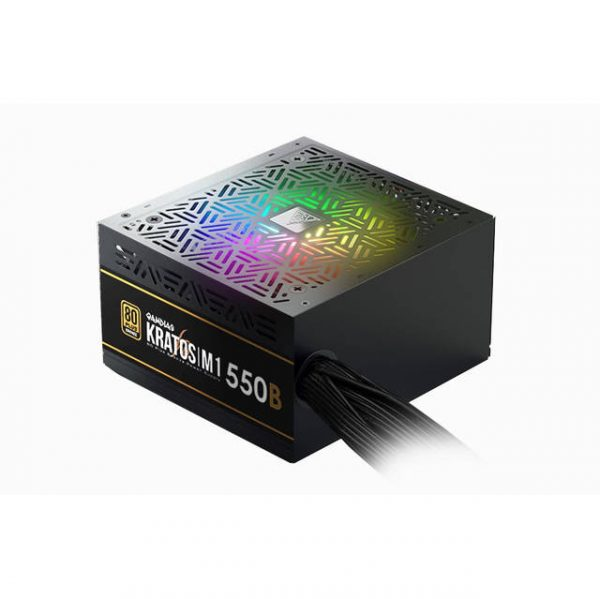 GAMDIAS KRATOS M1-550B BROWN BOX 550W 80 PLUS Bronze ATX12V v2.2 Power Supply