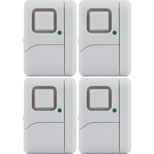 GE(R) 45174 Magnetic Indoor Window Alarms (4 pk)
