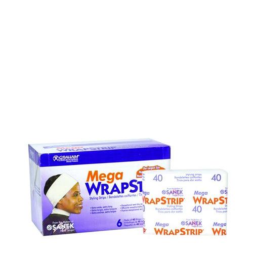 Graham Mega Wrapstrip-Wht 6Pk/Cs