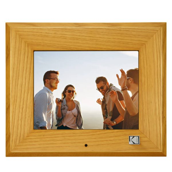 KODAK RDPF-802W 8 inch Multi-function Digital Photo Frame (Burlywood)