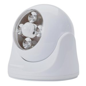 MAXSA(R) INNOVATIONS 40251 Battery-Powered Motion-Activated Anywhere Light (White)