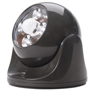 MAXSA(R) INNOVATIONS 40252 Battery-Powered Motion-Activated Anywhere Light (Bronze)