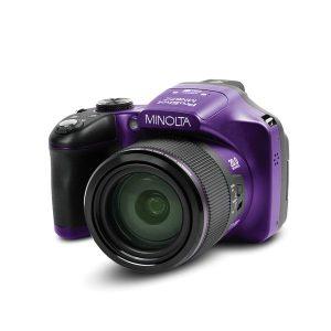 MINOLTA(R) MN67Z-P MN67Z 20.0-Megapixel 1080p Full HD 67x Optical Zoom Wi-Fi Bridge Camera (Black)