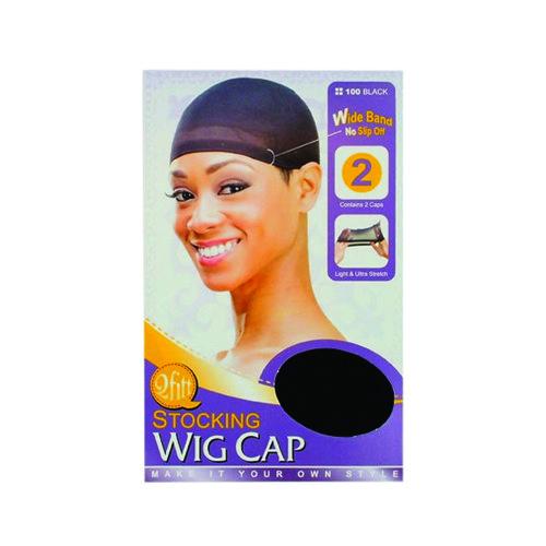 M&M 100 Stocking Wig Cap 2Pcs