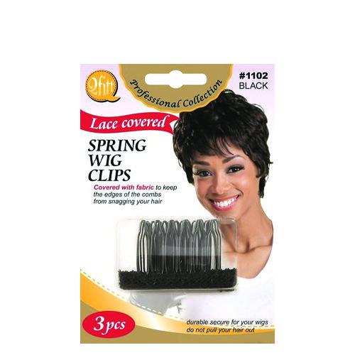 M&M 1102 Spring Wig Clips 3 Pcs