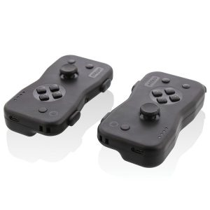 NYKO(R) 87240 Dualies Motion Controller Set for Nintendo Switch (Black)