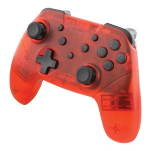 NYKO(R) 87261 Wireless Core Controller for Nintendo Switch (Red)