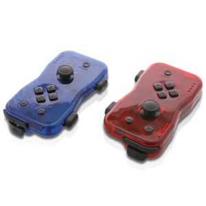 NYKO(R) 87268 Dualies Motion Controller Set for Nintendo Switch (Red and Blue)