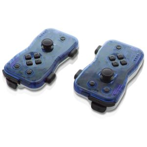 NYKO(R) 87272 Dualies Motion Controller Set for Nintendo Switch (Blue)