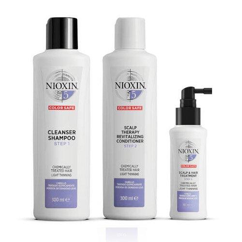 Nioxin System 5 Kit 300+300+100