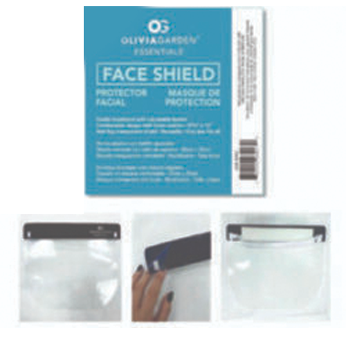 Olivia Garden Face Shield With Black Band