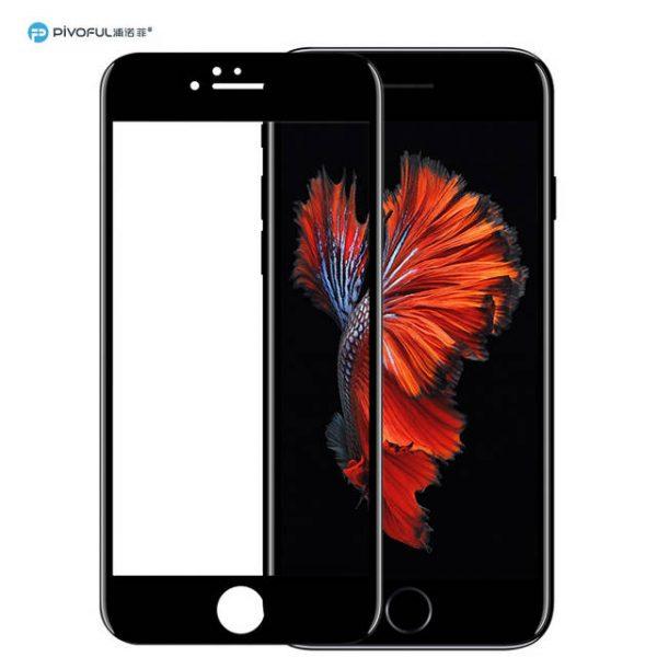 Pivoful PIV-I6PTGB iPhone6 Plus 3D Tempered Glass Film (Black)