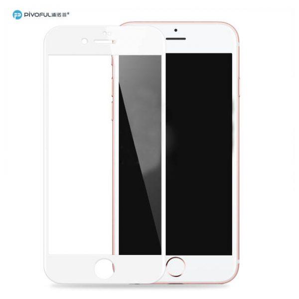 Pivoful PIV-I6PTGW iPhone6 Plus 3D Tempered Glass Film (White)