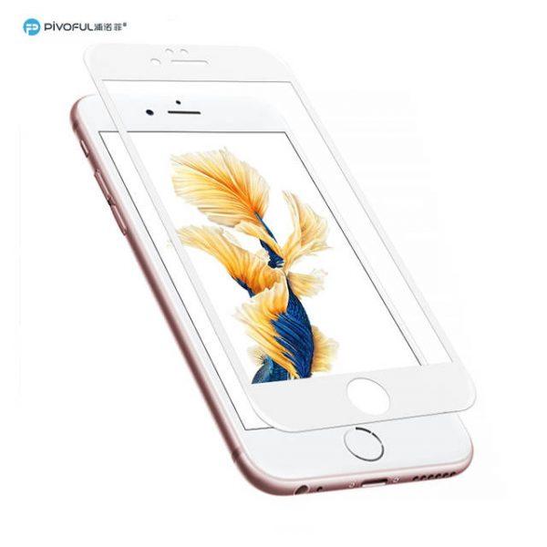 Pivoful PIV-I7PTGW iPhone7 Plus 3D Tempered Glass Film (White)