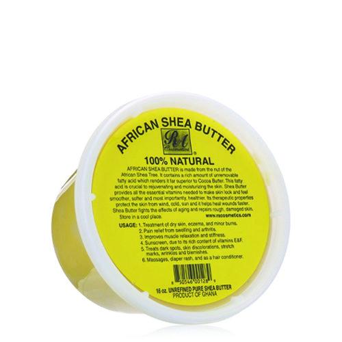 Ra 100% Shea Butter 16 Oz