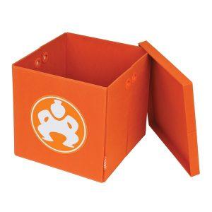 SUMO(R) ME-SUMO11148 14-Inch Folding Furniture Cube (Orange)