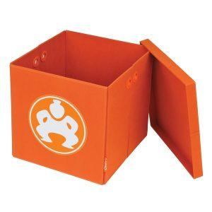 SUMO(R) ME-SUMO11188 18-Inch Folding Furniture Cube (Orange)