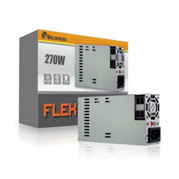 Solid Gear SDGR-FLEX270 270W Mini-ITX / FLEX ATX Power Supply