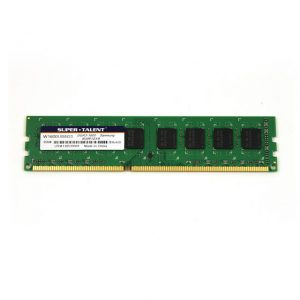 Super Talent DDR3-1600 8GB/512Mx8 Samsung Chip Memory