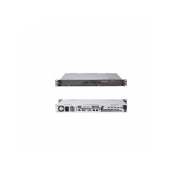 Supermicro CSE-512L-200B 200W Mini 1U Rackmount Server Chassis (Black)