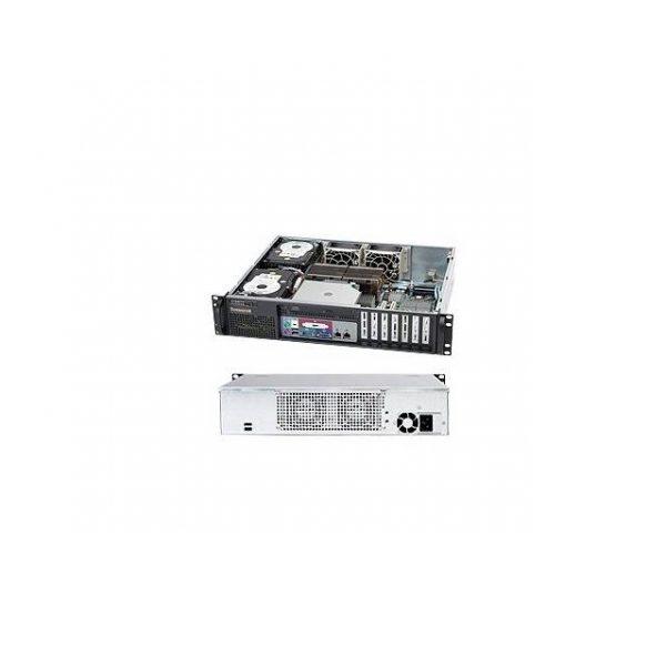 Supermicro CSE-523L-505B 500W 2U Rackmount Server Chassis (Black)