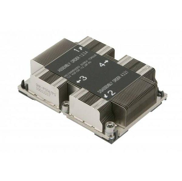 Supermicro SNK-P0067PS 1U Passive CPU Heatsink Socket LGA3647-0